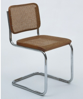 1928 Marcel Breuer Cesca Side Chair, courtesy of  MOMA