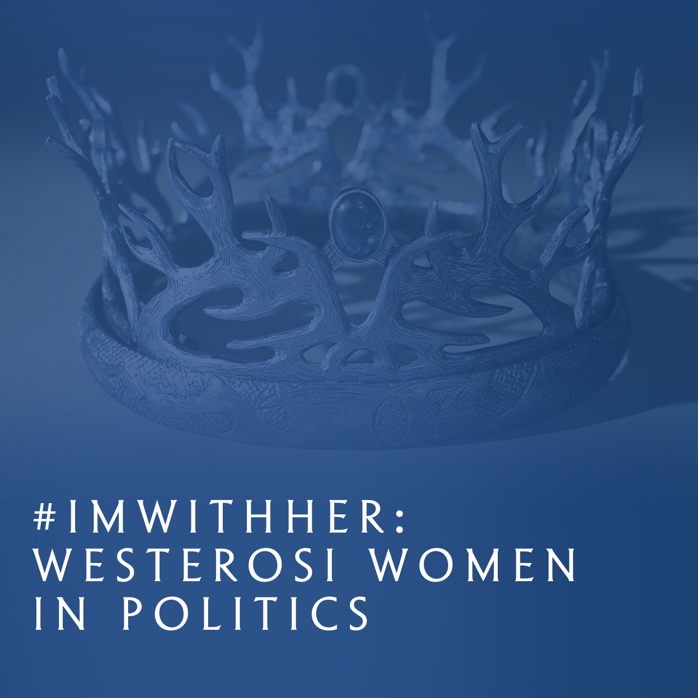 A continuation of last year's Queendom of Thrones panel, this year's discussion will focus on the political upbringings of the major female characters of the show. How were the women of the show brought up to adhere to different expected norms within Westeros, Essos, and Beyond the Wall? In what ways did this result in either devastation, in the case of Sansa, or an overcoming of obstacles, albeit through bloody means, like Daenerys and Cersei? Or are they more successful when they buck gender norms, like Arya and Brienne? Cast your vote!
