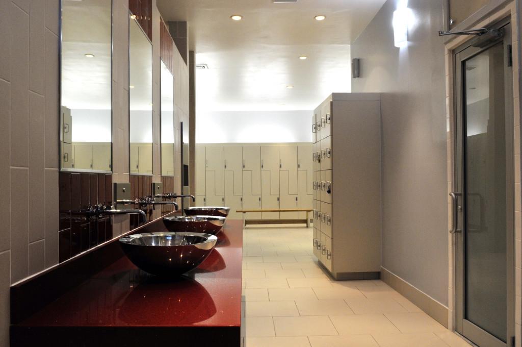 Locker Rooms Steam Rooms & Saunas
