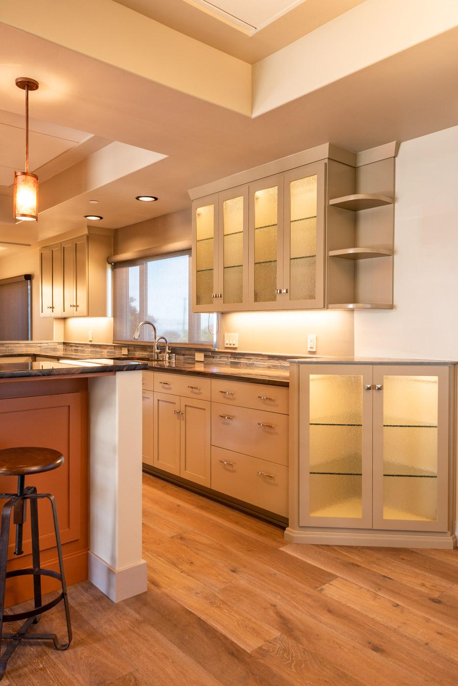 Craftsman Beach House Custom Kitchen And Bathroom Cabinets In Morro Bay California Sligh Cabinets Inc