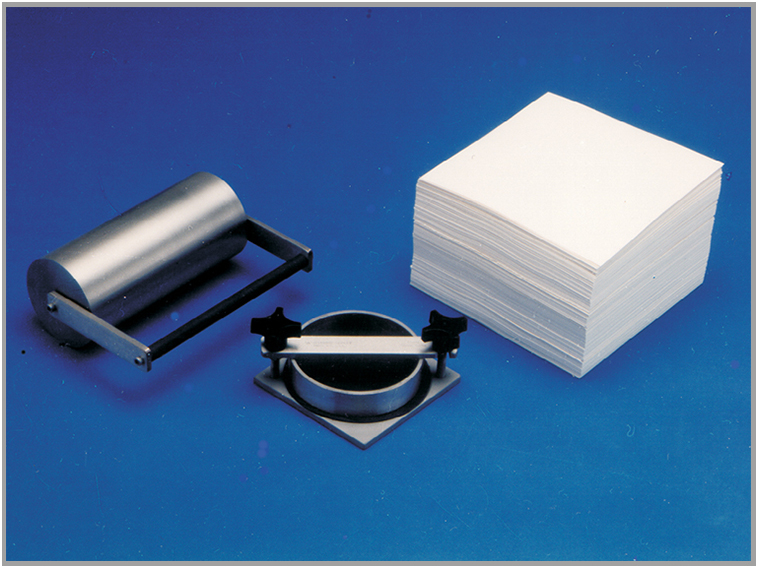 Paper Testing Instruments - Genuine GurleyTM Film, Sheet, and Paper Testing Instruments have been the industry standards for decades for measuring physical characteristics such as stiffness, flexibility, softness, porosity, air-permeability, and smoothness. Gurley instruments are used extensively in the paper manufacturing, paper board converting, printing, medical product manufacturing, and textile/non-woven industries. While used most often to test thin flat materials, small dimensional parts such a tubing can also be tested. To meet the needs of measuring those characteristics over a wide range of parameters, we offer three models of stiffness testers, seven densometers, and a permeometer.