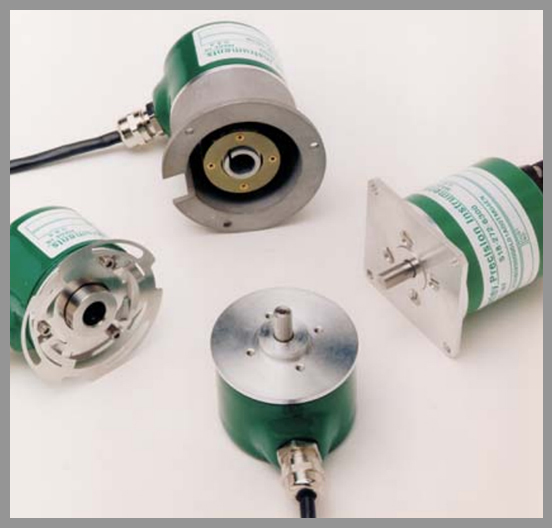 Gurley Series 9x20 Rotary Incremental Encoder - Series: 9x20Dia.: 2.0