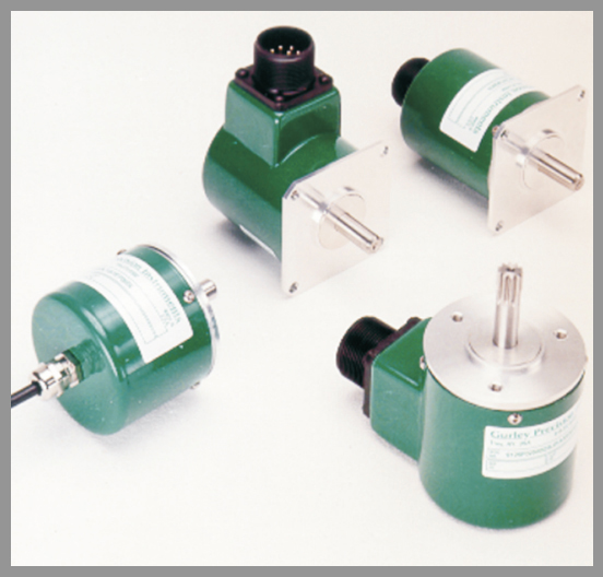 Gurley Series 9X25 Rotary Incremental Encoders - Series: 9x25Dia.: 2.5