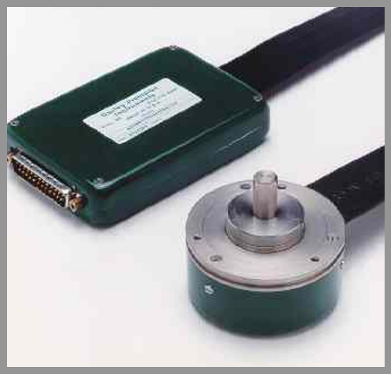Gurley Model A25S Absolute Encoder - Series: A25Dia.: 2.50