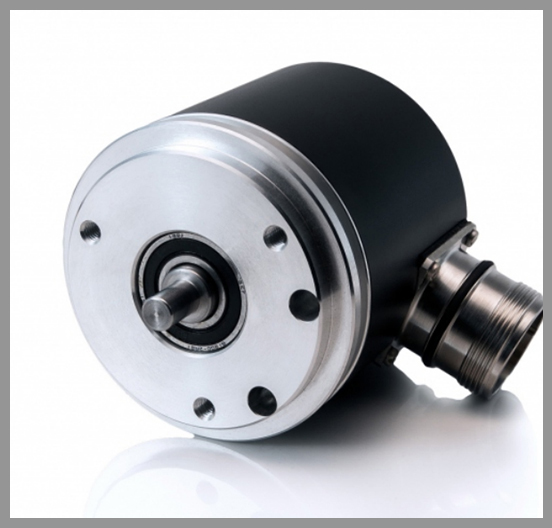 Gurley Model M58 Absolute Encoder with SSI Output - Series: M58Dia.: 2.28