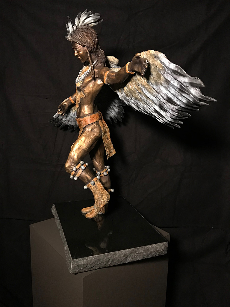 """Way-Shower Eagle Dancer"" 