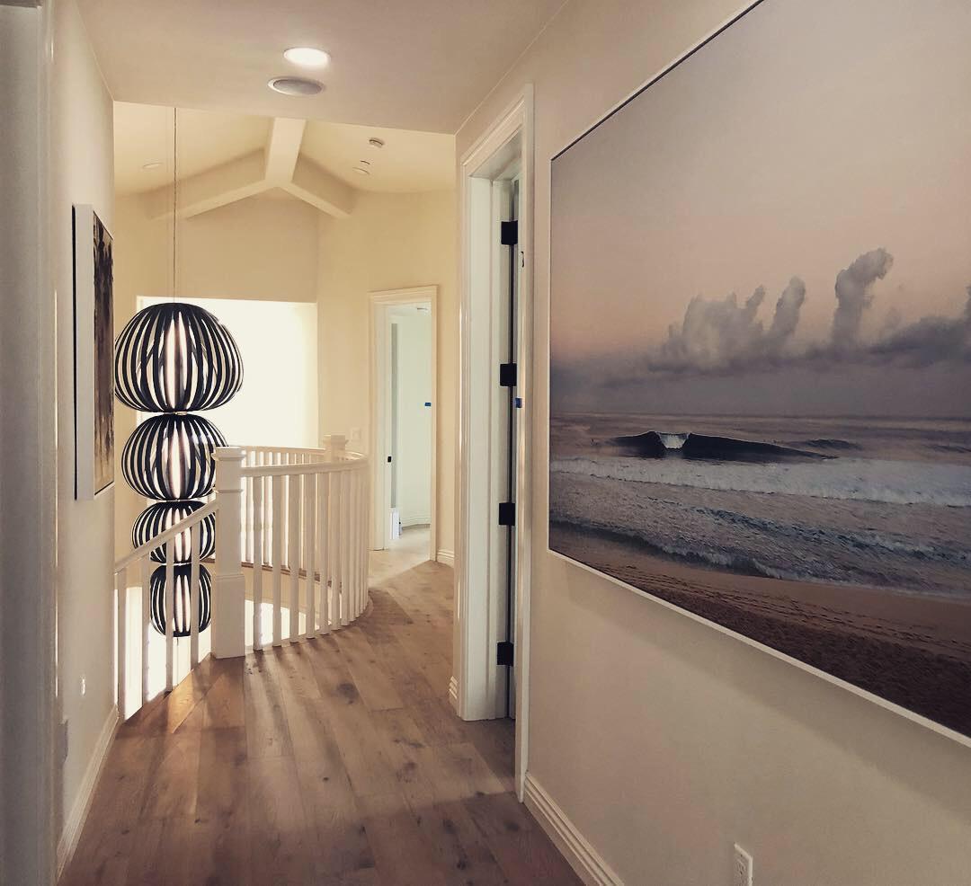Pipe by Bo Bridges in Santa Monica residence