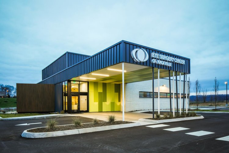 Medical: Eye Surgery Center of Knoxville  Architect: UrbanARCH  Photography: Bryan Allen and Bruce Cole