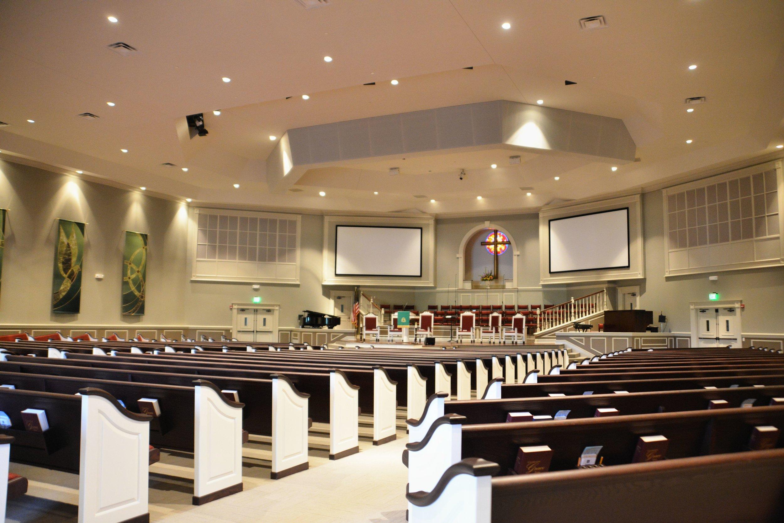 Religious: Trinity Baptist  Architect: Ross Witt  Photography: Paradigm Marketing