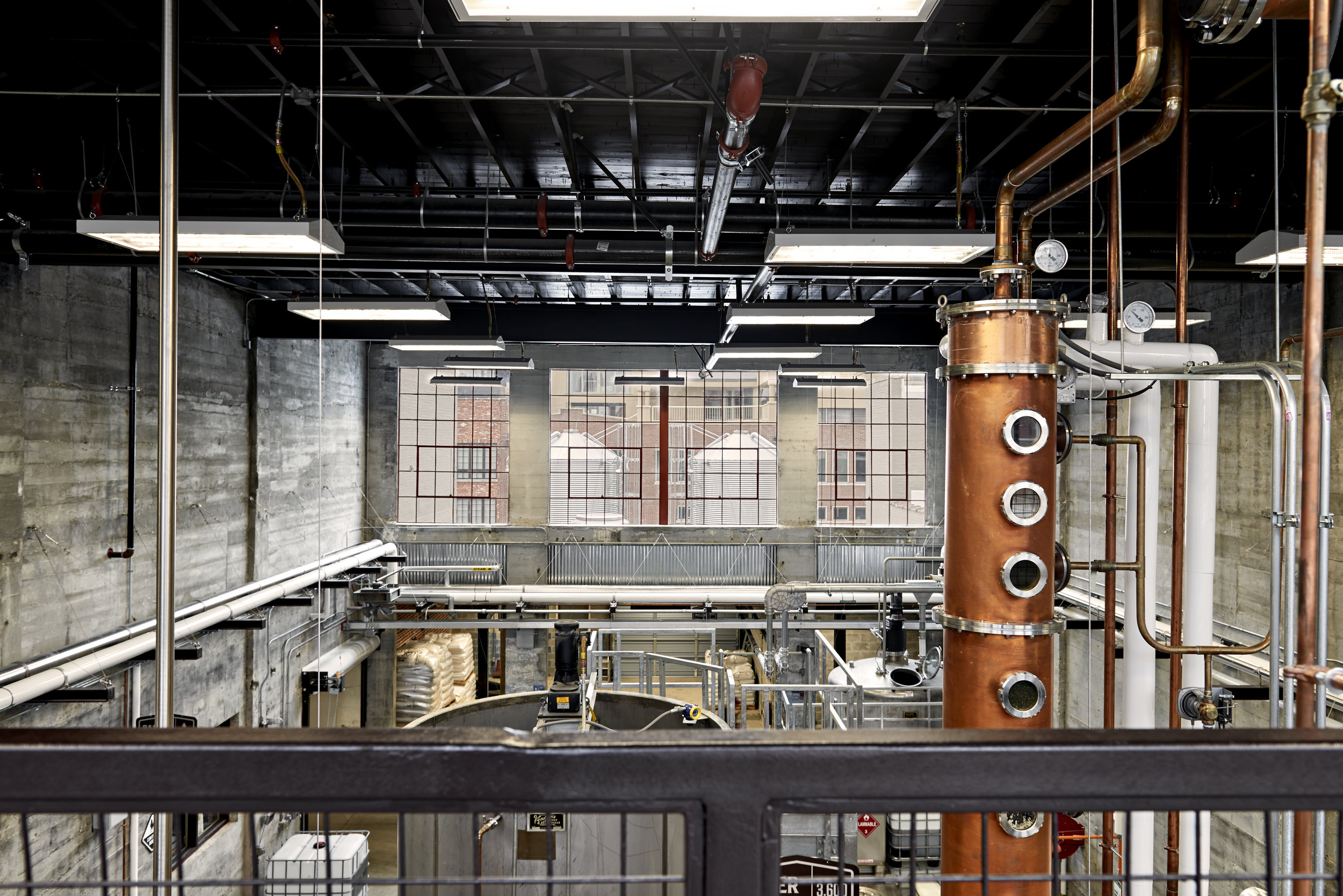 Commercial: Old Dominick Distillery  Architect: LRK  Photography: McGinn Photography