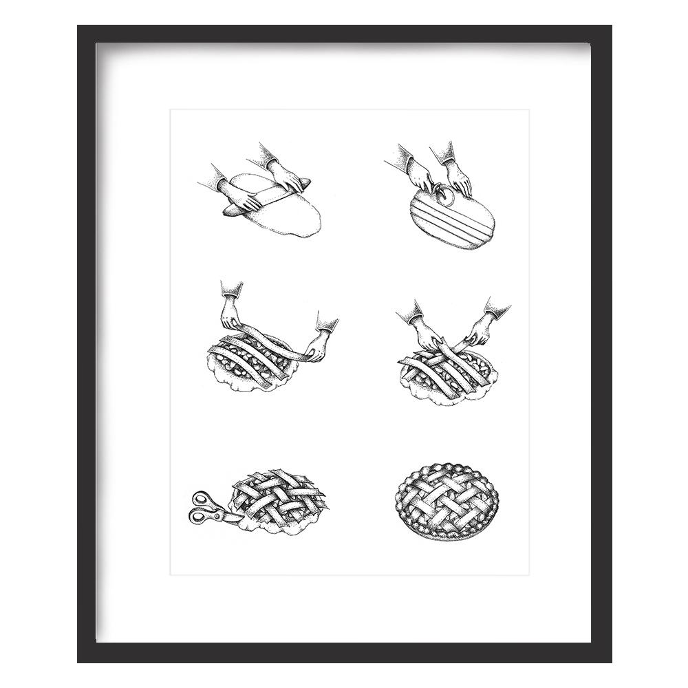 Lattice Pie Print 8x10 - $15 -