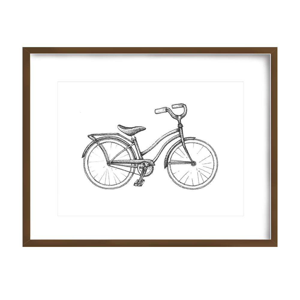 Bicycle Print 5x7 - $10 -