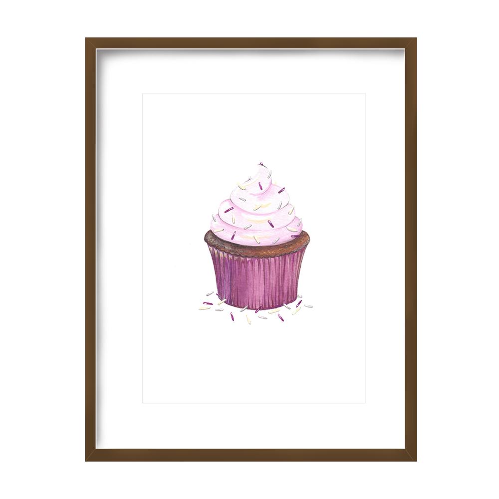Cupcake Print 5x7 - $10 -
