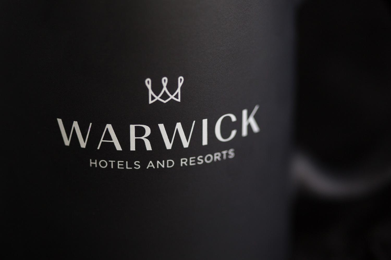 Warwick Hotel coffee mug design