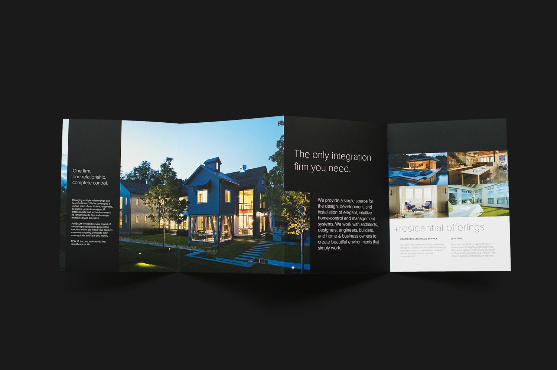 Realm sales booklet design