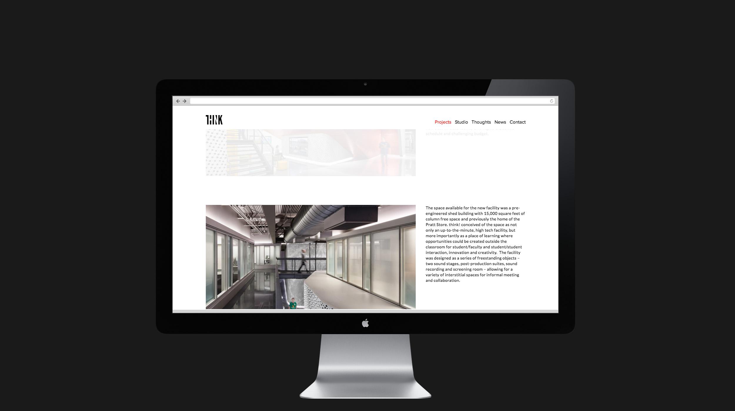 Think! web design, case study