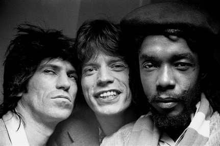 Keith Richards, Mick Jagger & Peter Tosh
