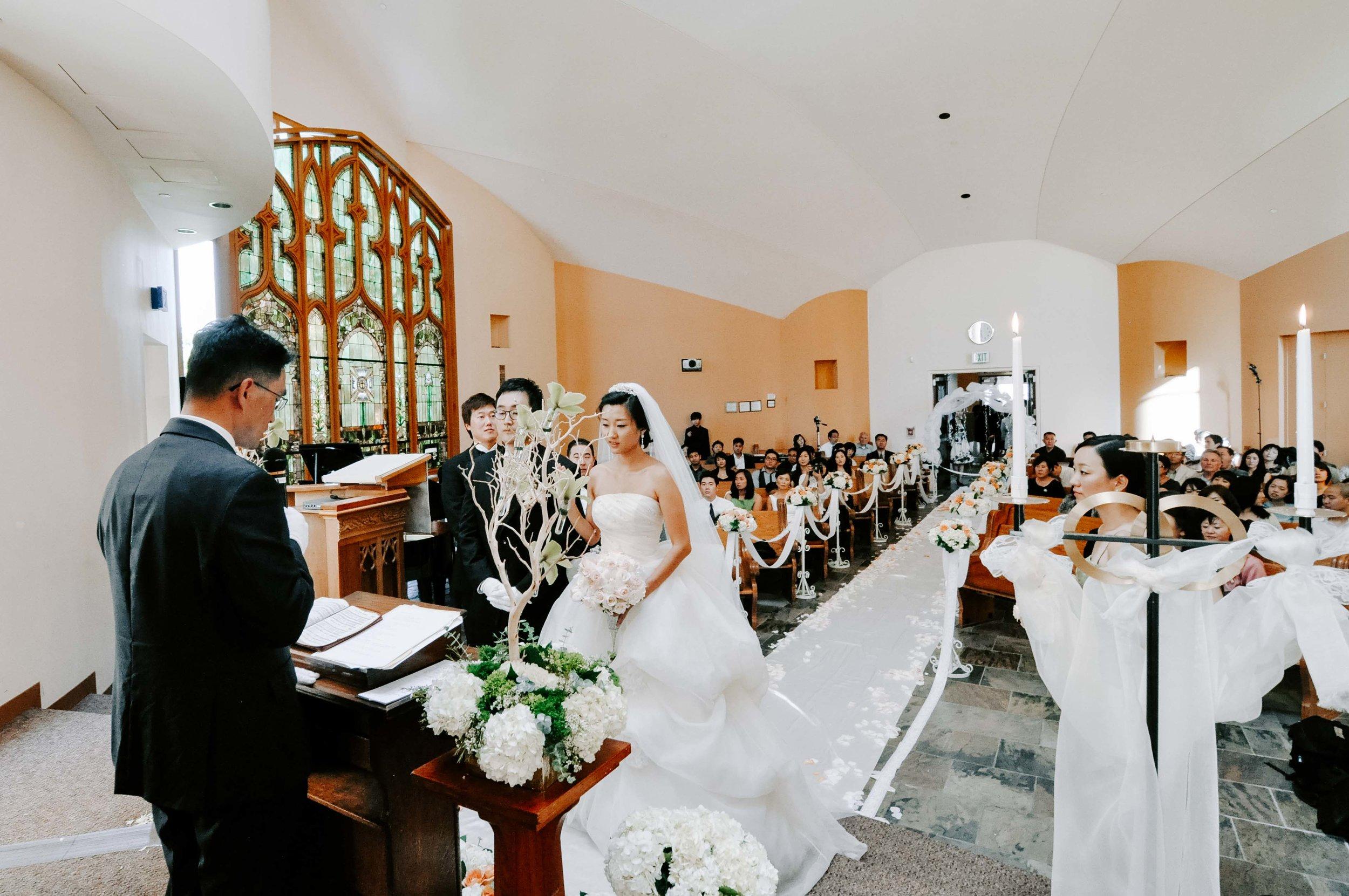 Los Angeles Chapel Wedding
