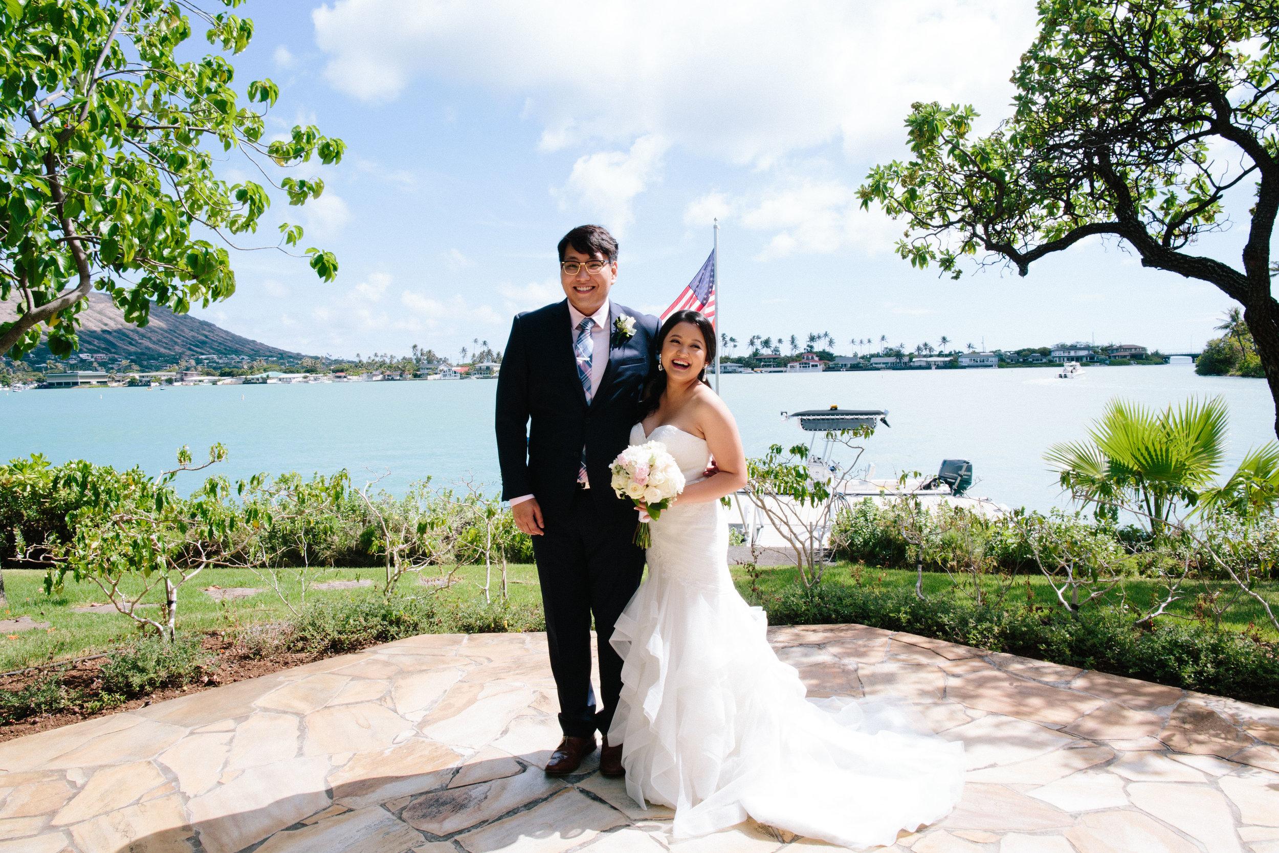 Hawaii Kai Marina Chapel Wedding