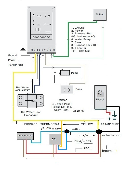 MCS-5 Control Board D-5 SW