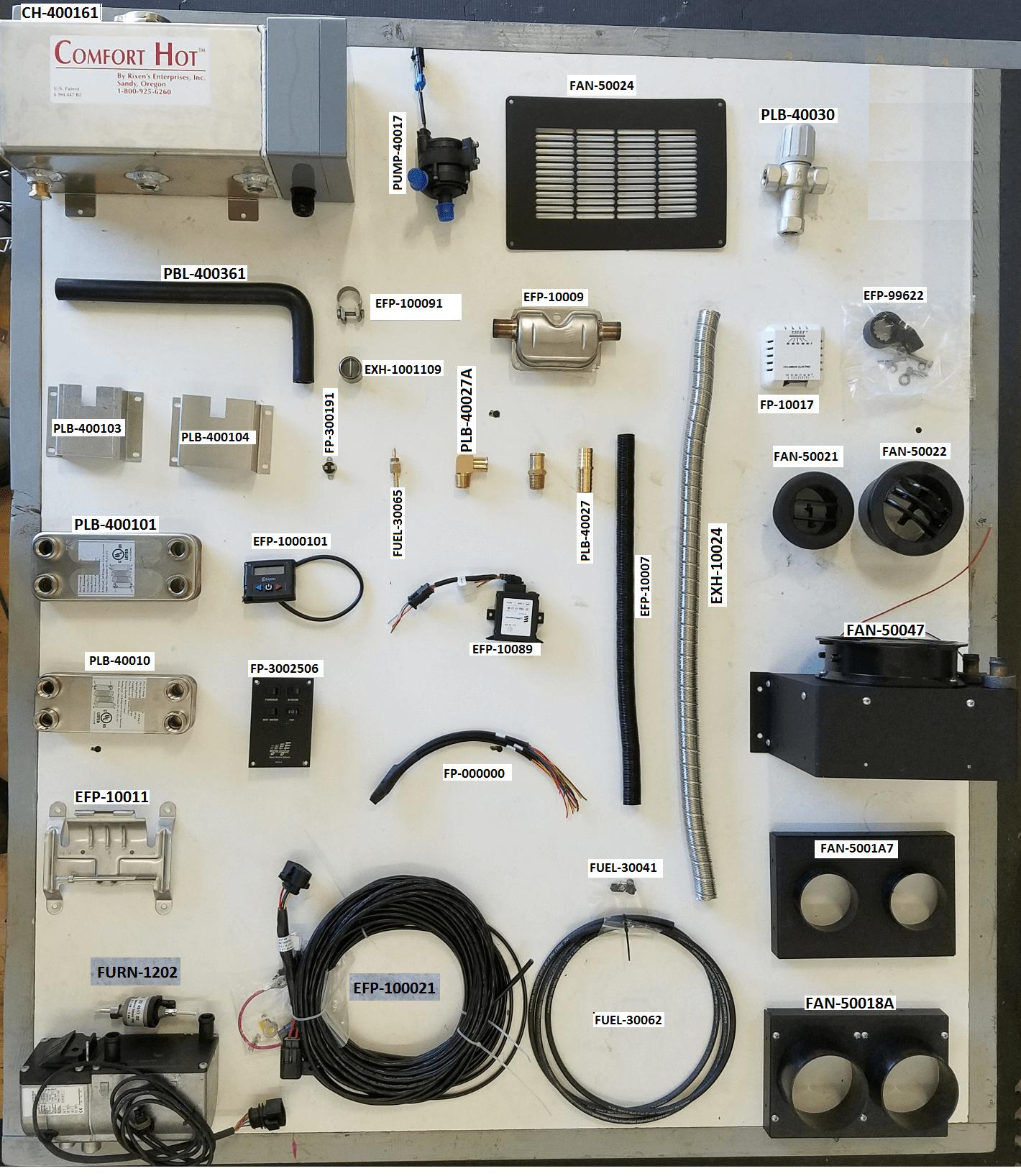 MCS-5 FURNACE KIT
