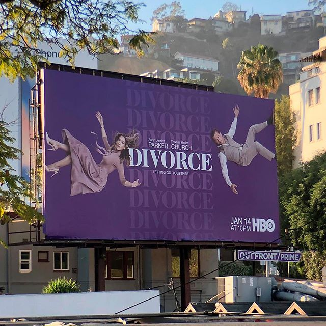 Here's a look at an outdoor execution of our campaign for Season 2 of DIVORCE on HBO. . . . . . . . . . . @hbo @divorceonhbo @sarahjessicaparker #stockholmdesign #creativeagency #keyart #print #typography #posterart #movieposter #movieposter #filmposter #posterdesign #entertainmentadvertising #advertising #billboard #creative #inspiration #photoshoot #television #tv #film #entertainment #behindthescenes #comedy