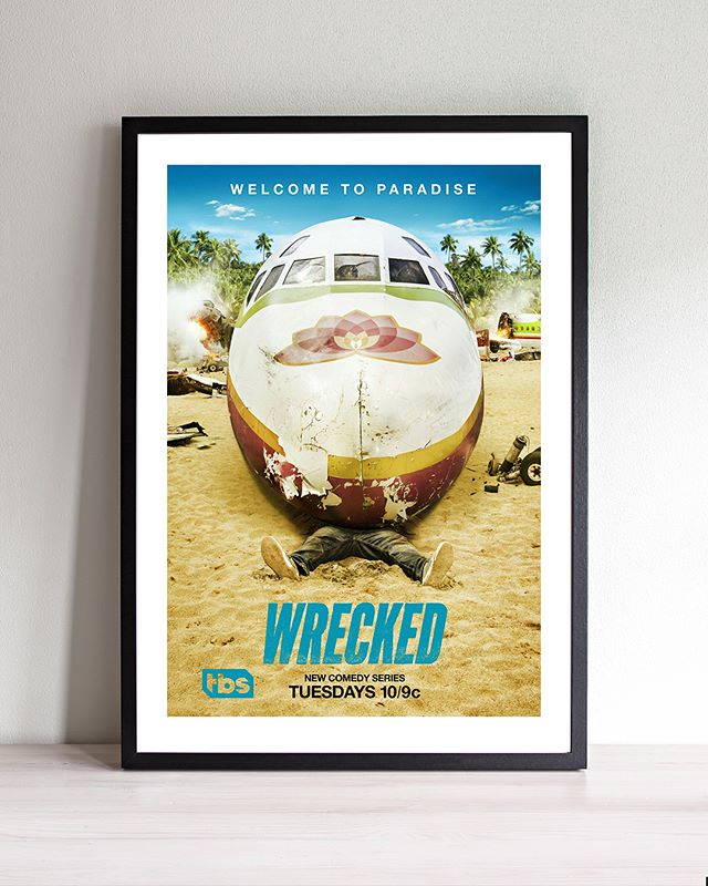 WRECKED is a very funny show on TBS. Here's a look back at our campaign for Season 1. . . . . . . . . . . @wreckedtbs @tbsnetwork #stockholmdesign #creativeagency #keyart #print #typography #posterart #movieposter #movieposter #filmposter #posterdesign #entertainmentadvertising #advertising #billboard #creative #inspiration #photoshoot #television #tv #film #entertainment #bts #behindthescenes