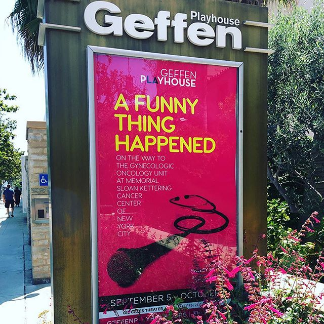 "For the last few years Stockholm Design has been the Agency Partner for GEFFEN PLAYHOUSE, creating key-art for their productions. Here's a look at the Key-Art for ""A Funny Thing Happened on the Way to the Gynecologic Oncology Unit at Memorial Sloan Kettering Cancer Center of New York City"". More to come. . . . . . . . . . @geffenplayhouse @gilcatesjr @halleyfeiffer #stockholmdesign #creativeagency #keyart #print #typography #posterart #movieposter #movieposter #filmposter #posterdesign #entertainmentadvertising #advertising #billboard #creative #inspiration #photoshoot #television #tv #film #entertainment #bts #behindthescenes #theatre #playwright"