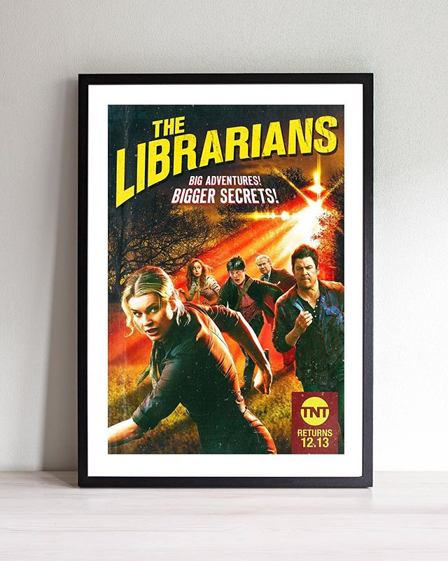 The popular Fantasy Adventure The Librarians wraps up Season 4 this Wednesday. We created the Campaigns for all previous seasons and are happy to partner again with our friends at TNT for Season 4. . . . . . . . . . . @librarianstnt @tntdrama @rebeccaromijn @noahwyle @christiankane1 @reallylindybooth @johnharlankim #JohnLarroquette #stockholmdesign #creativeagency #keyart #print #typography #posterart #movieposter #movieposter #filmposter #posterdesign #entertainmentadvertising #advertising #billboard #creative #inspiration #photoshoot #television #tv #film #entertainment #tbt #behindthescenes #fantasy #adventure