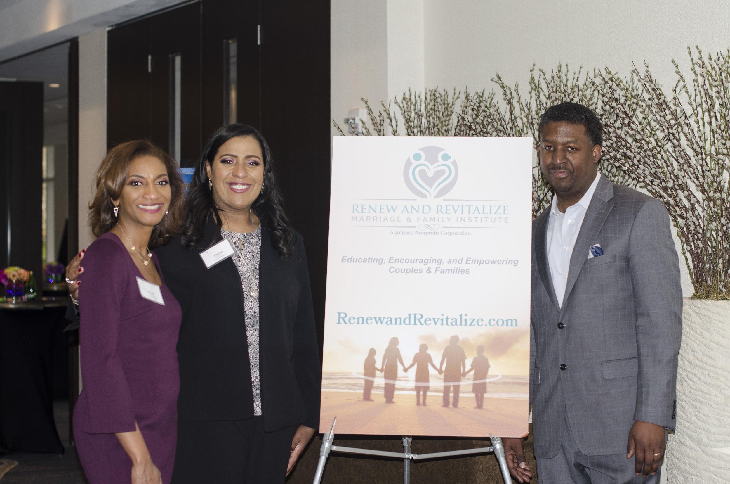 Founders: Paula Anderson, LCPC, Carisa Oyebanjo, LCPC, & Jendayo Grady, Ph.D.