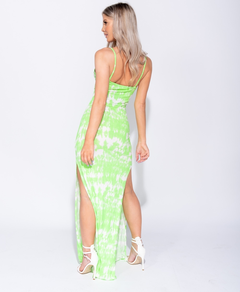 Not One To Be Tied Down! - Ayla Tie Dye Maxi