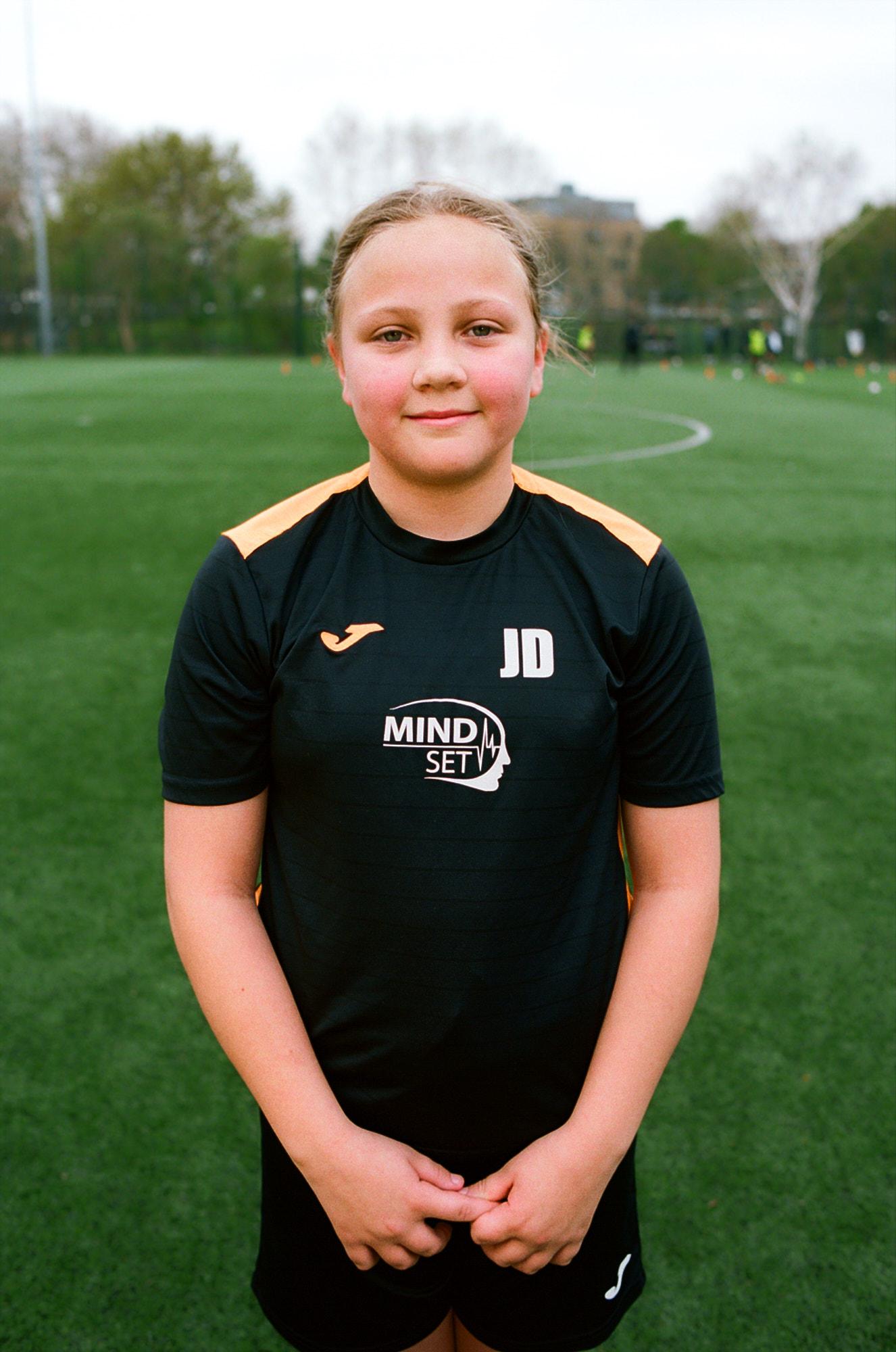 Jamila, Mindset FC, Cred: Image by Eliza Hatch
