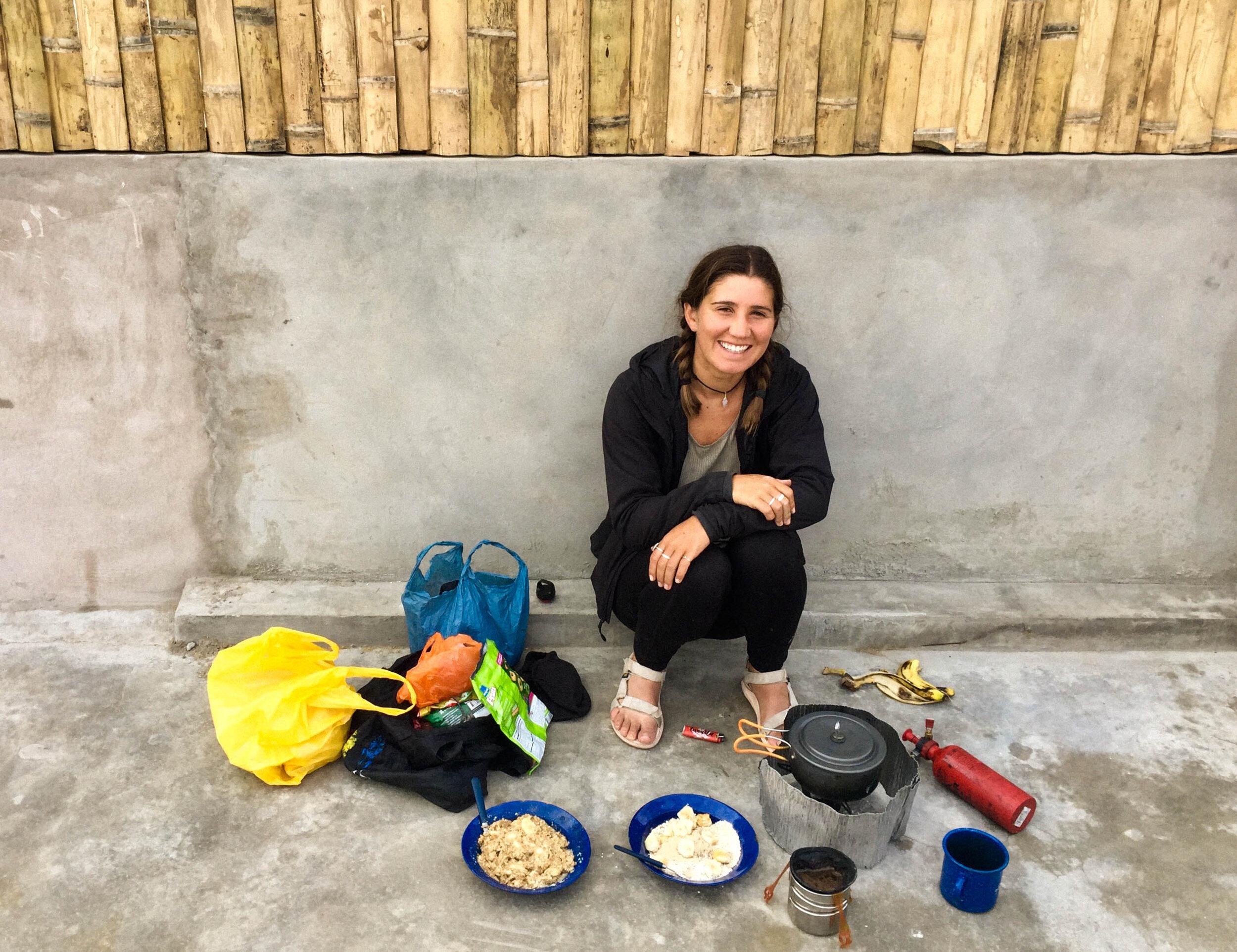 Breakfast in Colombia, 2019