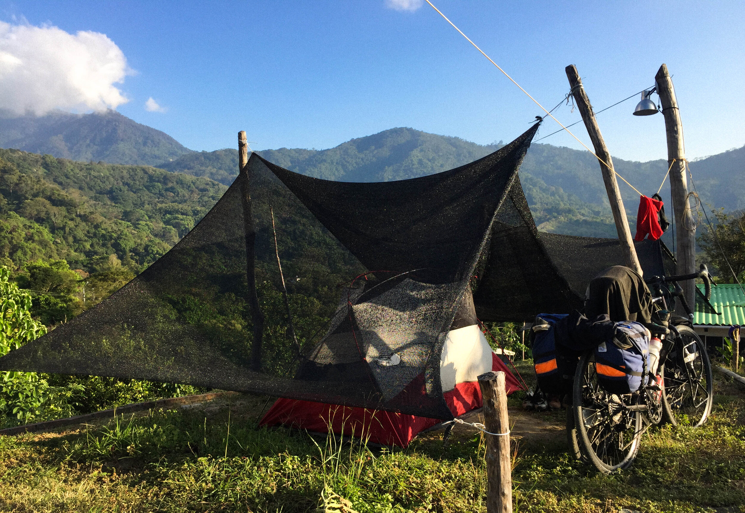 Camping in Colombia, 2019
