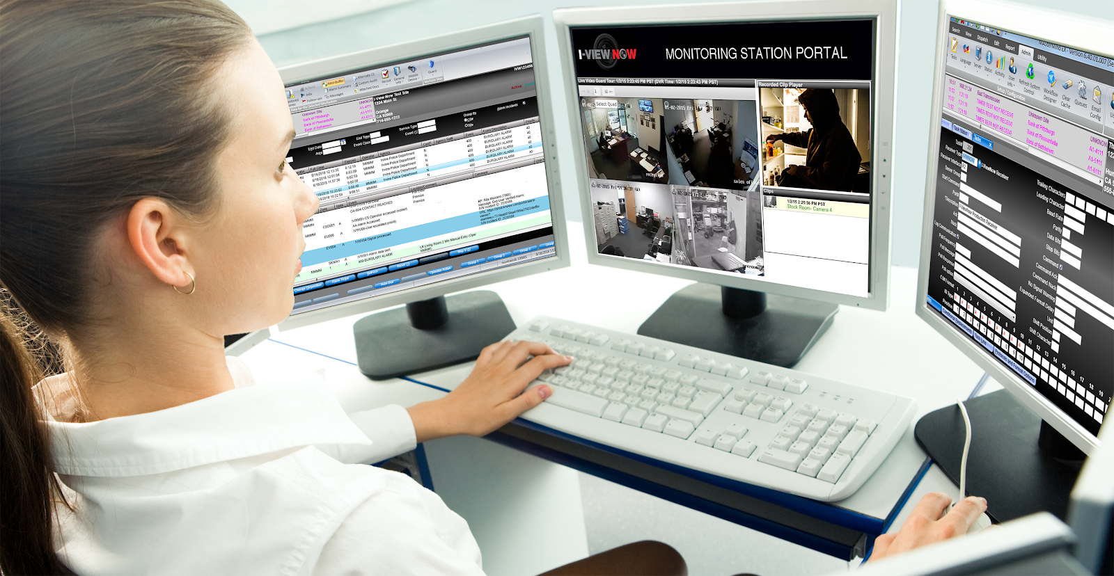 Video Verification I-View Now Mastermind operator