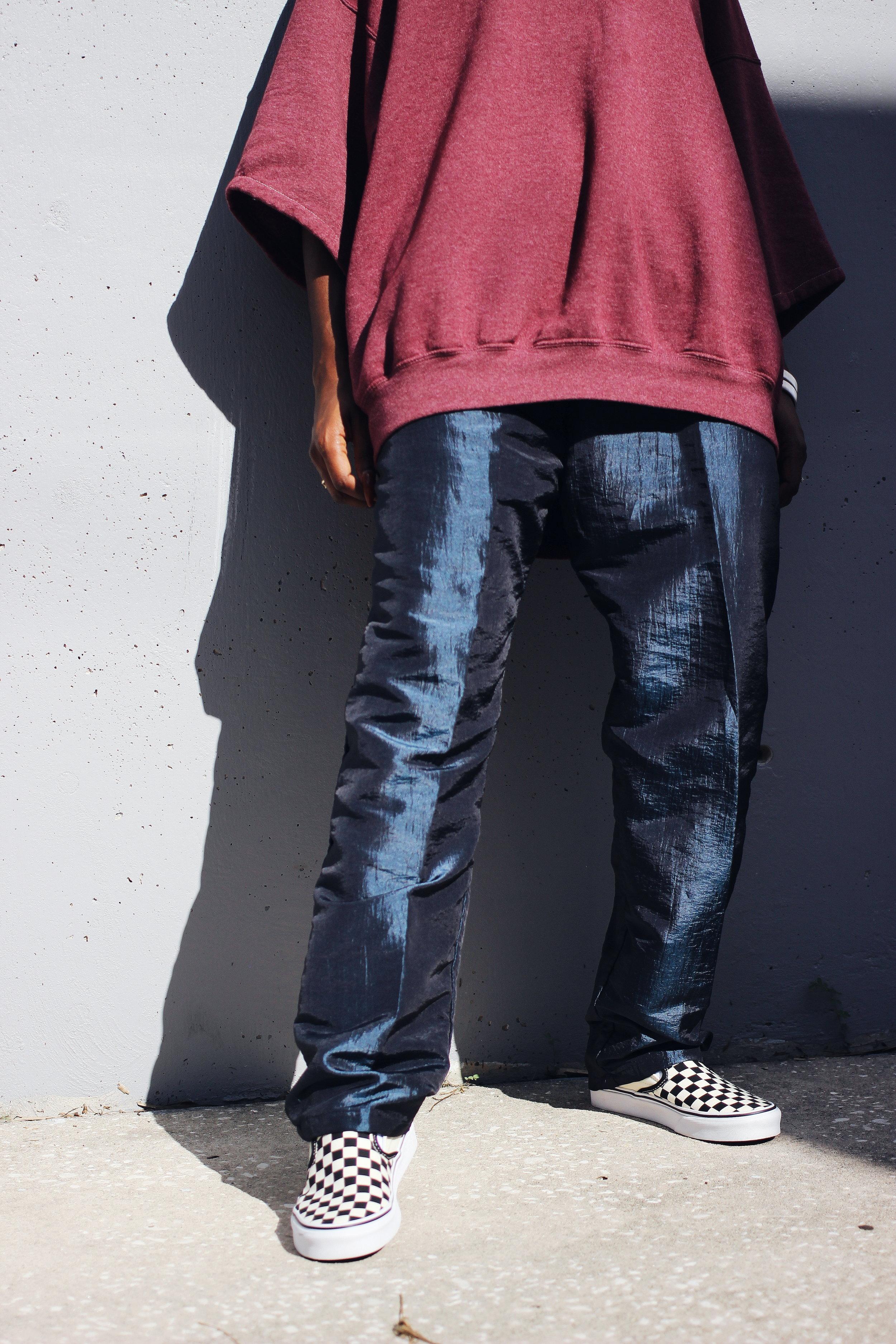 90s windbreaker pants