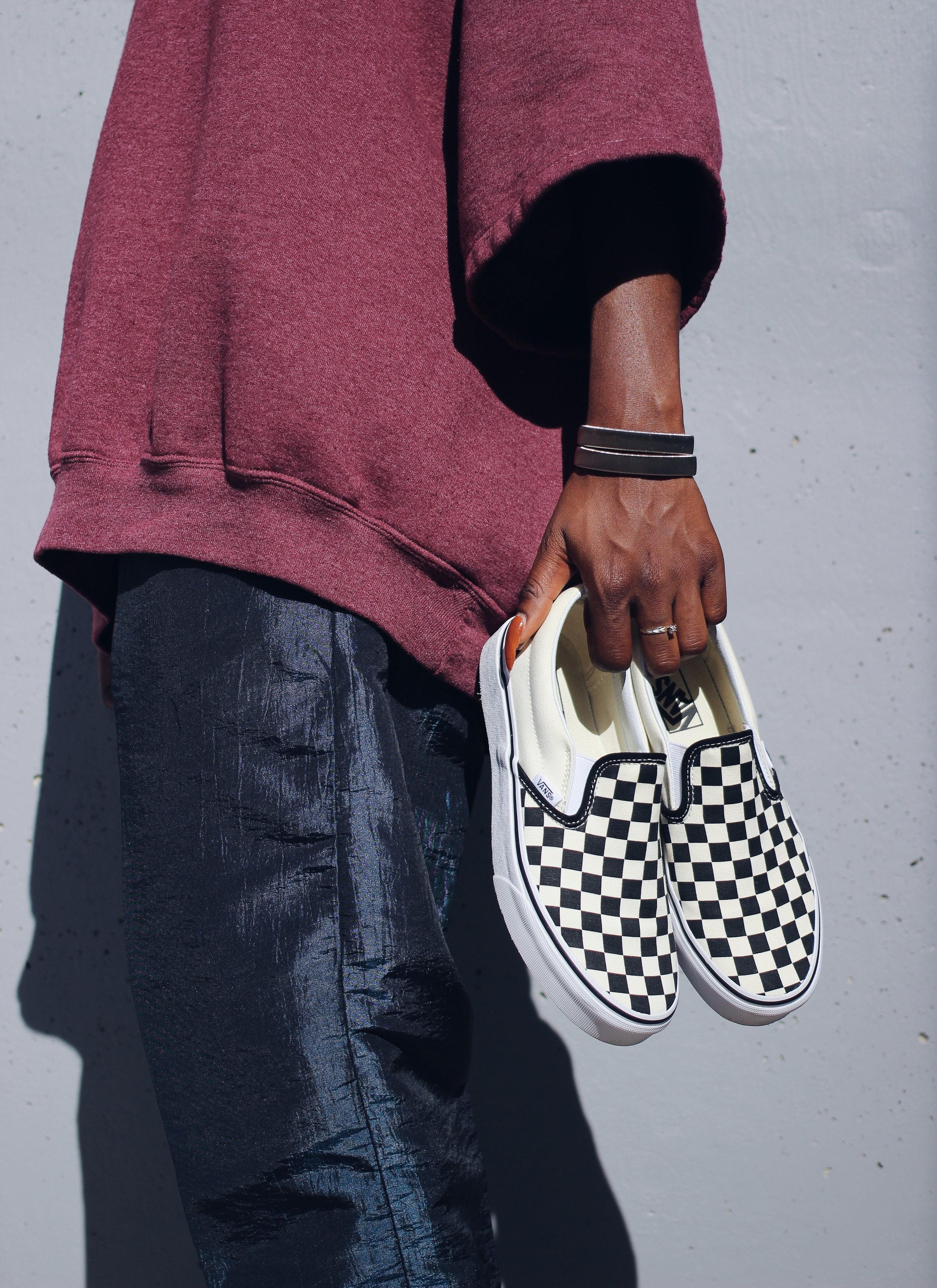 Vans Checkboard Slipons