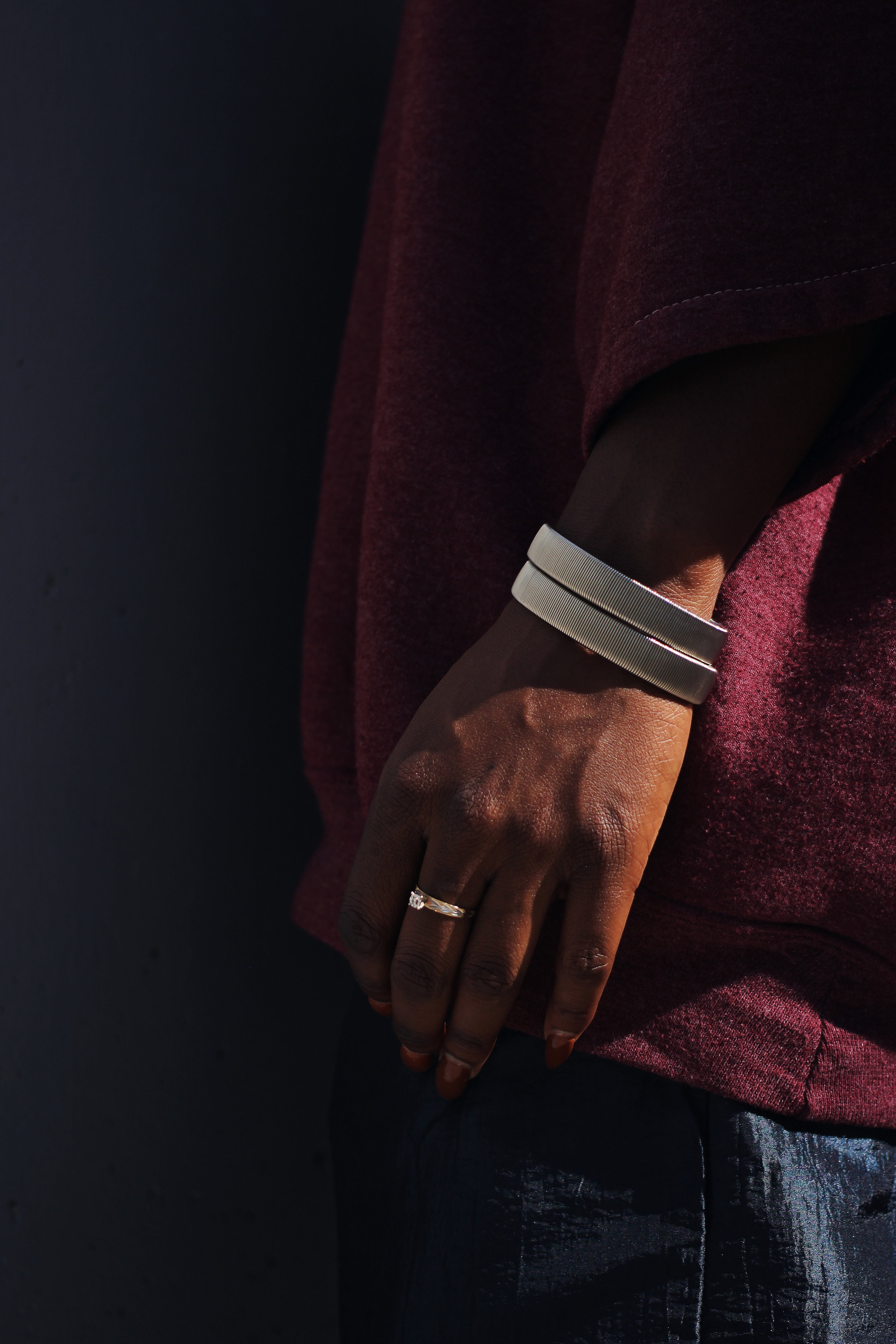 Retro metal spring bracelets.jpg