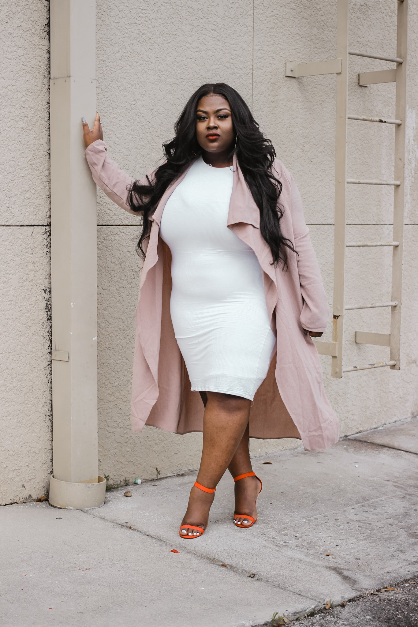 Haez - Haez is a plus-sized model and a lifestyle micro-influencer based in Florida. She represents the full-figured women of today while also catering to her black females supporters by sharing advice on makeup, fashion, dating, dieting and just living life as a black plus-sized millennial woman today. Keep up with Haez's journey as she navigates through life by following her instagram. She drops major gems on her IG story weekly!