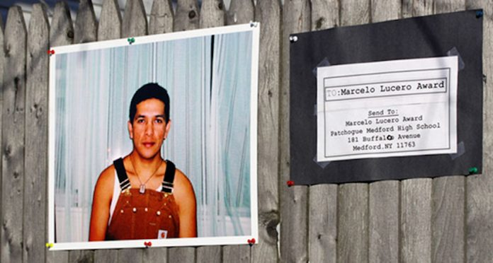 """Long Island resident Marcelo Lucero was murdered in Patchogue, NY in 2008 in a hate crime. The story of how his neighbors responded to his death is documented in """"Light in the Darkness,"""" a Not In Our Town documentary film."""