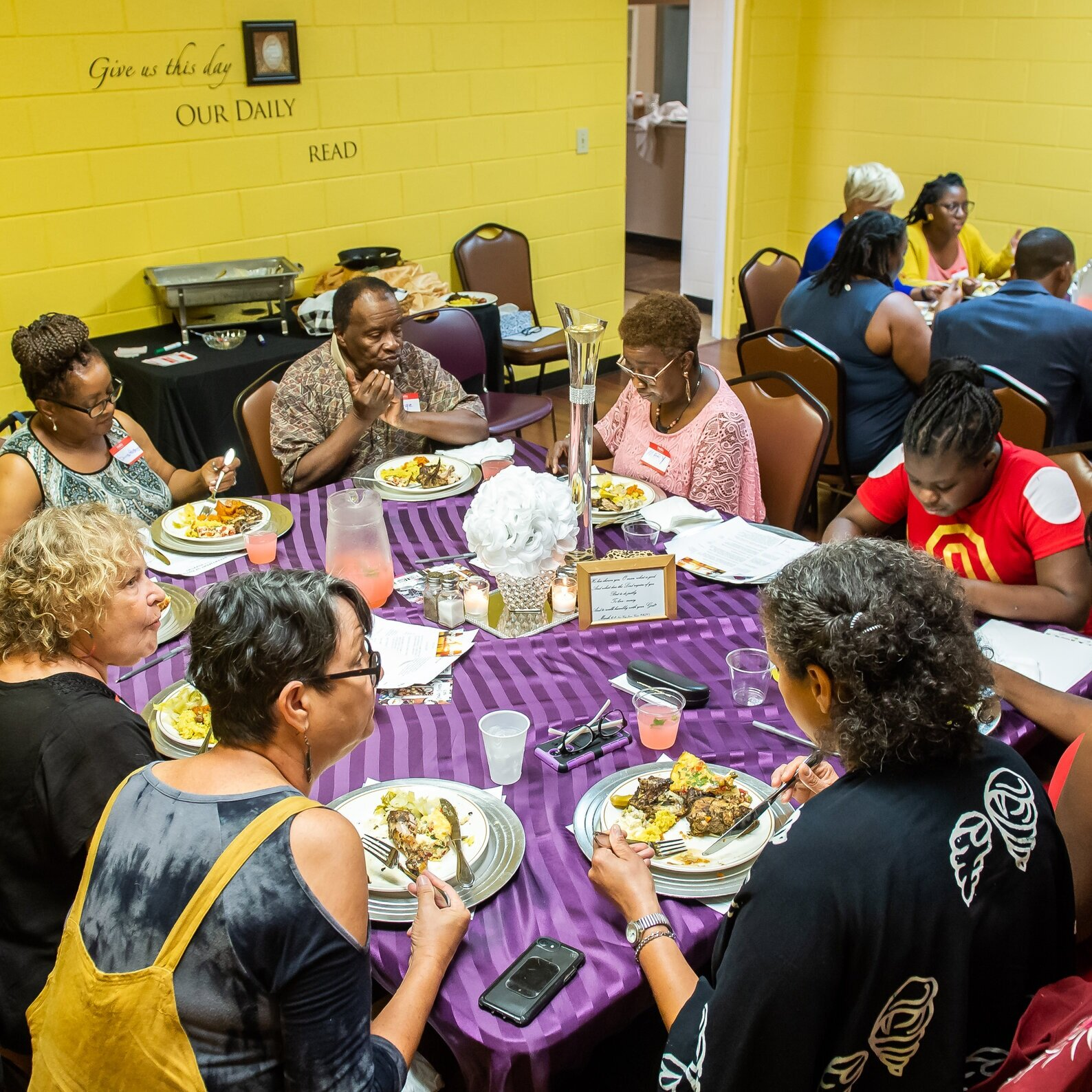 In Decatur, GA, residents participate in  Decatur Dinners  to talk about race with their neighbors.