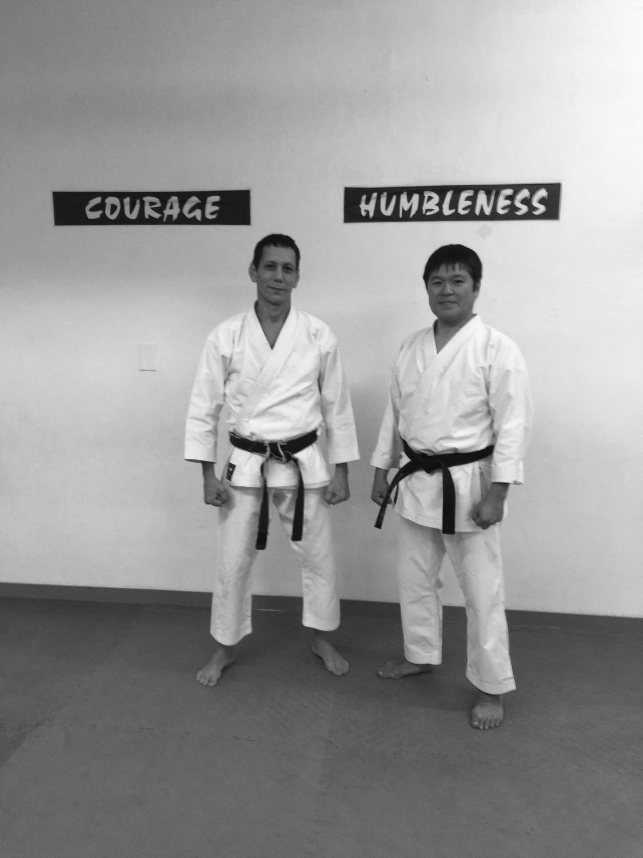 With Chief Instructor Shihan Manabu Murakami ,paying us a visit  Feb.28th , 2018