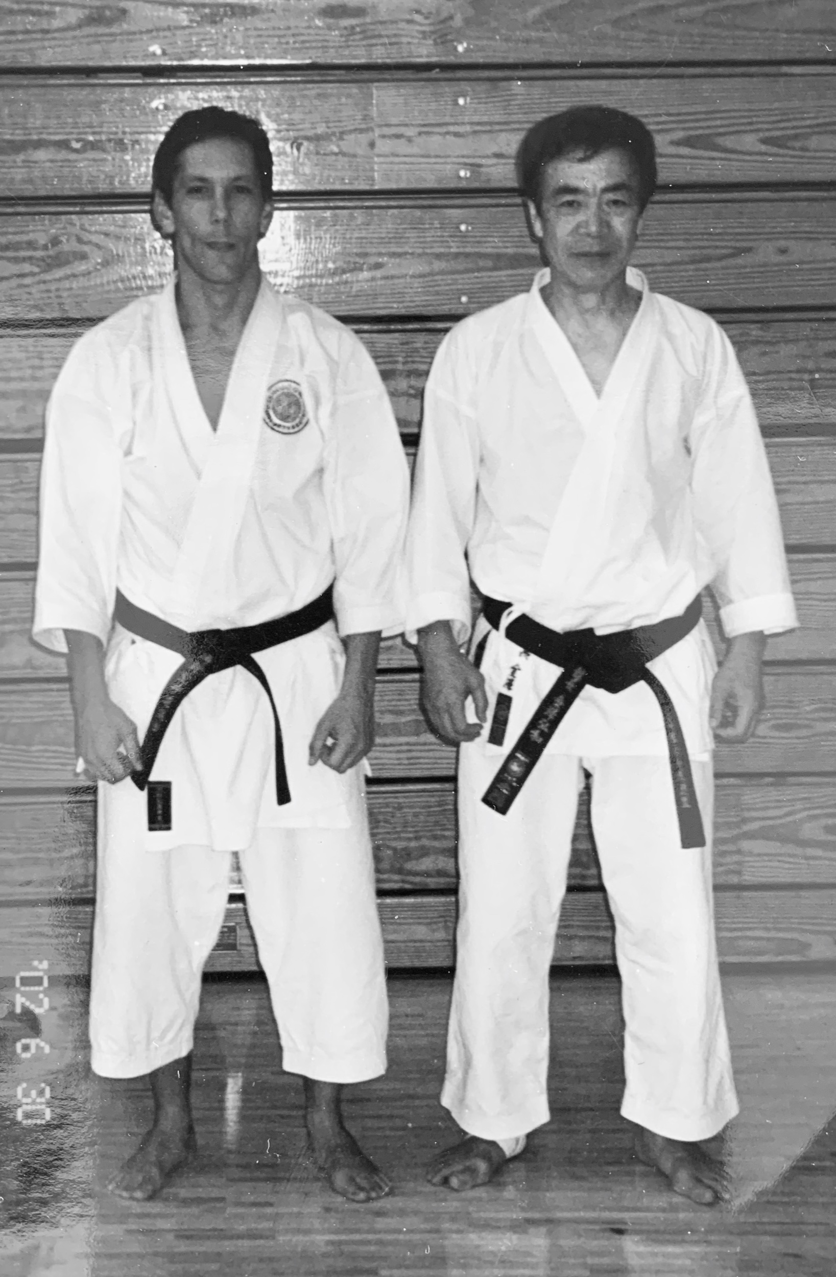 With Soke Hirokazu Kanazawa in Miami     June 30th , 2002