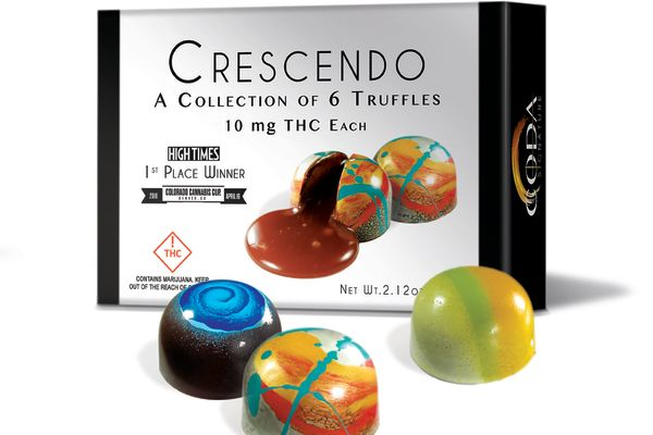 Coda's Crescendo THC chocolates are featured in The Oscars gift bags.