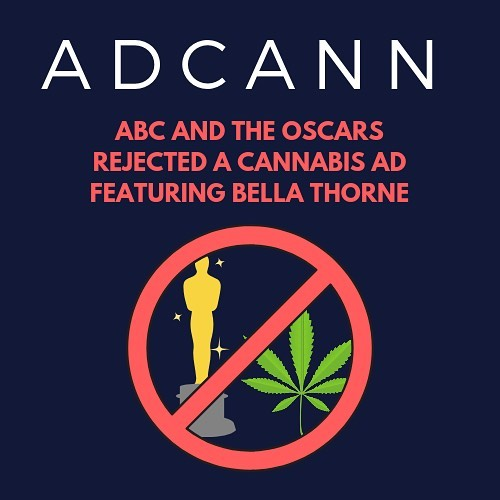 """Even though cannabis is becoming accepted inside The Oscars, marijuana companies are still unable to purchase advertising spots during the ceremony.  California-based Lowell Herb Co. says it tried to buy air-time during the Oscars for $2 million to debut an ad starring former Disney star Bella Thorne, but that it was rejected by ABC.  The spot for the company features family farmers tending to sustainable growing practices in large fields, transitioning to celeb Thorne consuming the finished product with some hip friends at a party.  The company says the ad is a """"celebration of California legalization,"""" and Bella Thorne told Page Six that, """"It's a shame that, that message won't be televised… for now."""" Swipe to watch the rejected ad ➡️"""