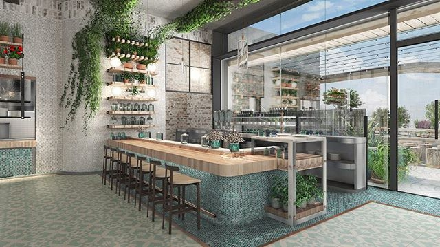 """Lowell Herb Co. plans to debut an outdoor cannabis restaurant in West Hollywood this summer.  Dubbed Lowell Farms: A Cannabis Cafe, the restaurant guarantees that cannabis is """"woven into every aspect of the dining experience"""". The menu, which is still in development, will focus on seasonal dishes, all of which can be ordered with or without THC and/or CBD. Each infused item will include pesticide-free marijuana grown from the Santa Barbara-based Lowell Farms.  What do you think of these renderings?"""