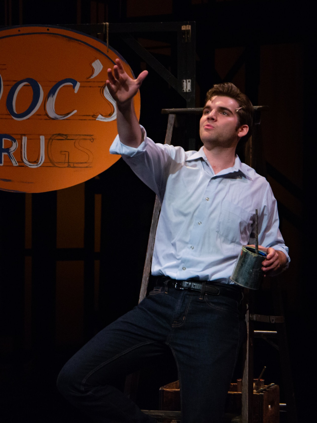 "- ""BEN LOHRBERG'S SINGING IS A REVELATION.""- Revue West Michigan""[LOHRBERG] SEALS THE DEAL WITH A CHARMING DEMEANOR THAT MAKES HIM SEEM JUST A LITTLE OLDER AND MORE MATURE THAN HIS TESTOSTERONE-DRIVEN BUDDIES.""- Encore Michigan""[LOHRBERG'S] LONGING AND LOVE ARE PALPABLE IN HIS VOICE ALONE, PARTICULARLY HIS EXQUISITE HIGH NOTES.""- Revue West Michigan""LOHRBERG OFFERS NOT ONLY GOOD LOOKS AND A STRONG, EXPRESSIVE SINGING VOICE.""- Encore Michigan""THEIR [BEN LOHRBERG & SARA ORNELAS'] STRENGTHS TOGETHER MAKE FOR AN EXTRAORDINARY UNION AND A RELATIONSHIP THAT EMERGES, EVOLVES AND ENDS WITH GREAT EMOTION. AND, MIRACULOUSLY, THEY ARE CONVINCING TEENAGERS AS WELL AS TREMENDOUSLY SOPHISTICATED.""- Revue West Michigan""[LOHRBERG & ORNELAS'] VOICES BLEND BEAUTIFULLY.""- Encore Michigan"