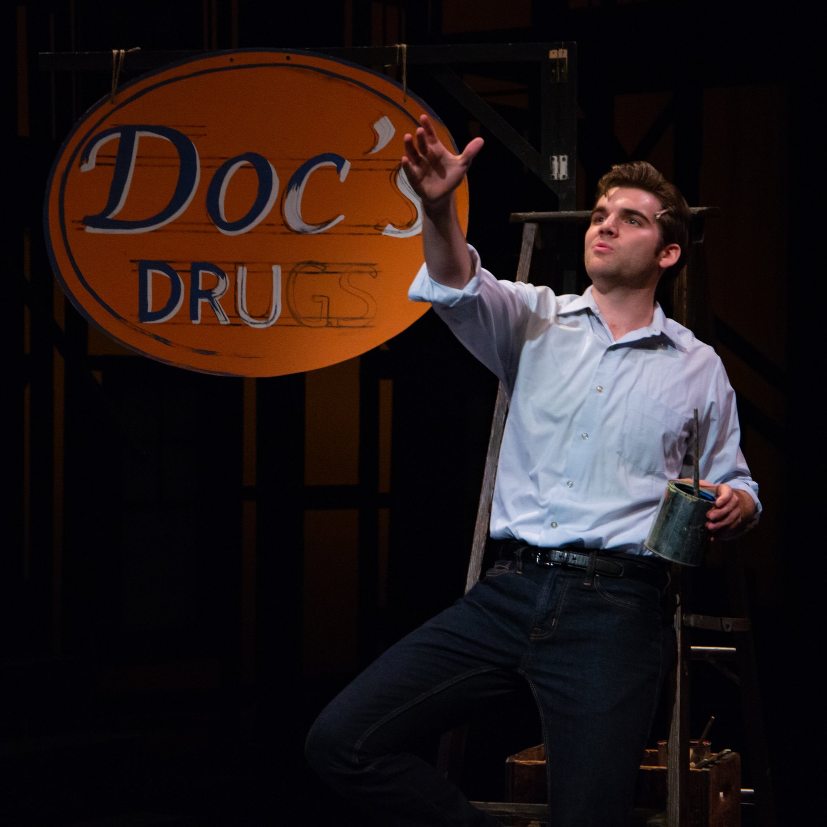 "NEW REVIEWSWEST SIDE STORY - ""Ben Lohrberg's singing is a revelation."" - Revue West Michigan"