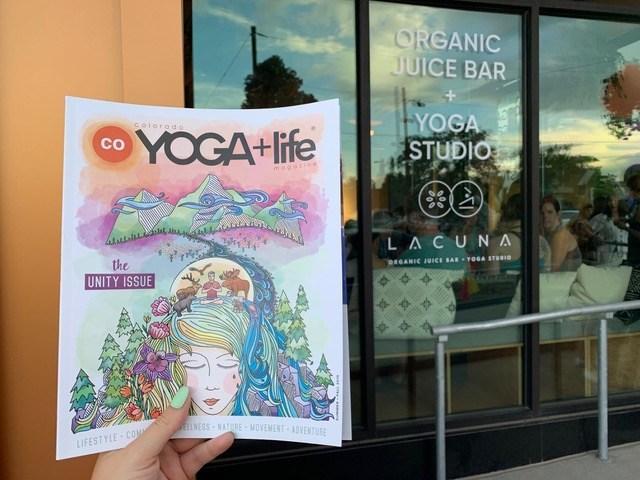 CO Yoga + Life Magazine -