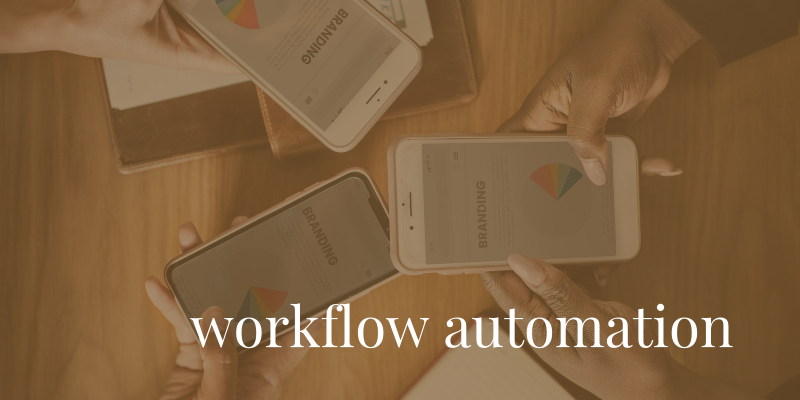 Workflow Automation - Improvement of daily workflow processes through the implementation of web-based application software to streamline Customer Relationship Management and Team Project Management.
